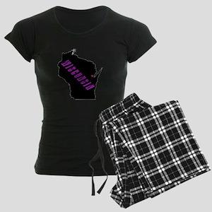 Wisconsin Purple Women's Dark Pajamas