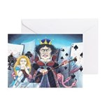 Queen of Hearts Greeting Cards (Pk of 20)