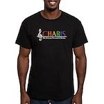 CHARIS Men's Fitted T-Shirt (dark)