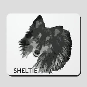 Adoring Sheltie Mousepad