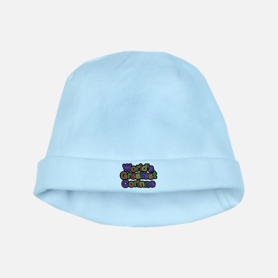 Worlds Greatest Corinne Baby Hat