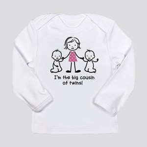 Big Cousin of Twins Long Sleeve Infant T-Shirt