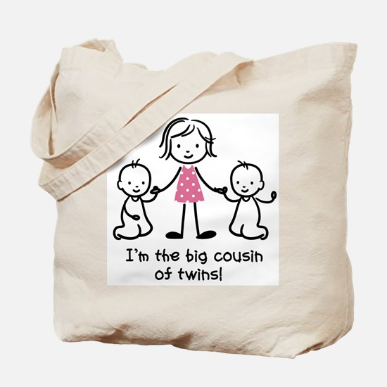 Big Cousin of Twins Tote Bag