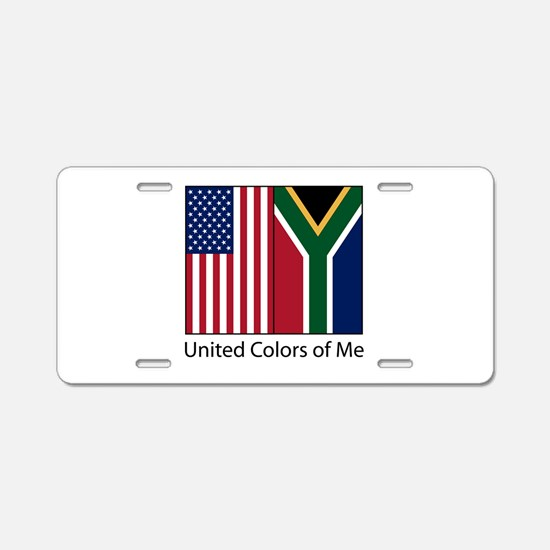 US SA Me Aluminum License Plate