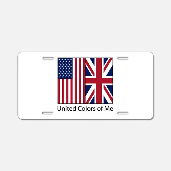 US UK Me Aluminum License Plate