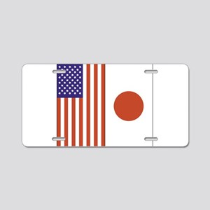 US and Japan Aluminum License Plate