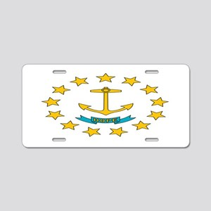 """Rhode Island"" Aluminum License Plate"