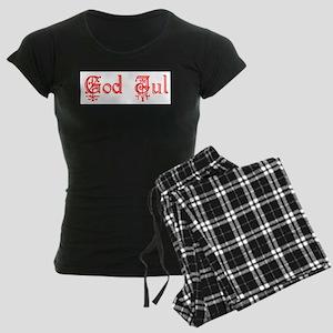 God Jul Women's Dark Pajamas