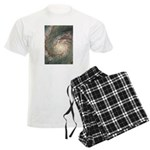 The Galaxy in Your Hands Men's Light Pajamas