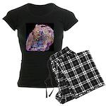 The Scream Women's Dark Pajamas