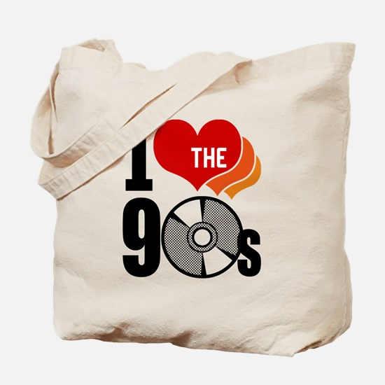 I Love The 90s Tote Bag
