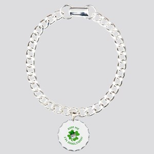 Sheltish Puppy Charm Bracelet, One Charm