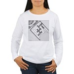 Rex and Ms. Twiggles (No Text) Women's Long Sleeve