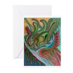 Valley Cat 42 Greeting Cards (Pk of 10)
