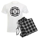 Fire Rescue Men's Light Pajamas