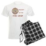 Fire Chief Property Men's Light Pajamas