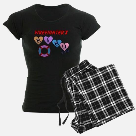 Firefighter's Baby Pajamas