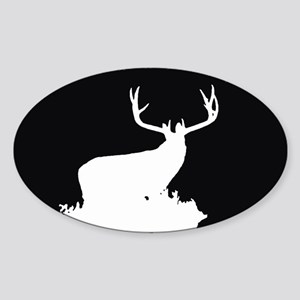 Monster Buck Sticker (Oval)