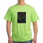 Valley Cat 17 Green T-Shirt