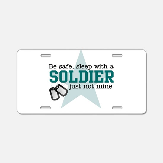 Army medic Aluminum License Plate