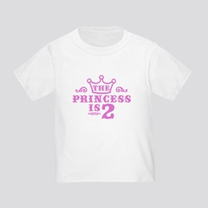 2nd Birthday Toddler T-Shirt