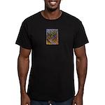 Valley Cat 18 Men's Fitted T-Shirt (dark)