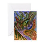 Valley Cat 18 Greeting Card