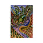 Valley Cat 18 Rectangle Magnet (100 pack)