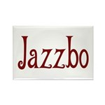 Jazzbo Rectangle Magnet (100 pack)