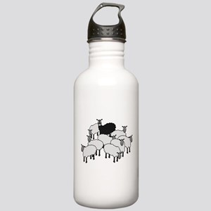 Black Sheep Cartoon Stainless Water Bottle 1.0L