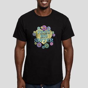 Proud Big Sister Men's Fitted T-Shirt (dark)