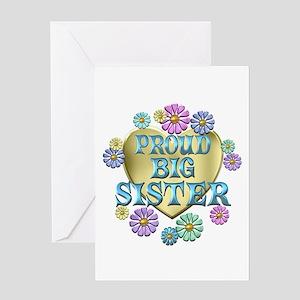Proud Big Sister Greeting Card