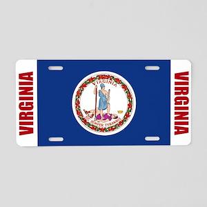 Virginia Aluminum License Plate