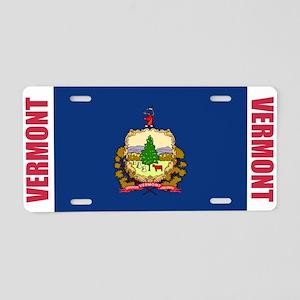 Vermont Aluminum License Plate