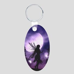 Dancing Fairy Oval Keychain