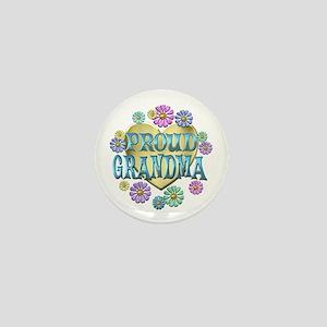 Proud Grandma Mini Button