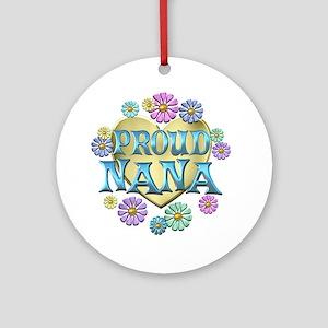 Proud Nana Ornament (Round)