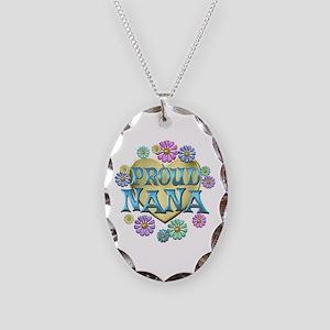 Proud Nana Necklace Oval Charm