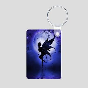 Indigo Fairy Photo Keychain