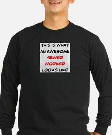 awesome sewer worker T