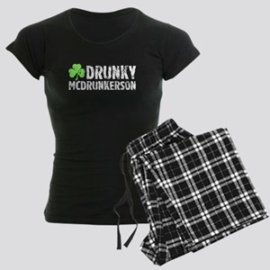 Drunky McDrunkerson Women's Dark Pajamas