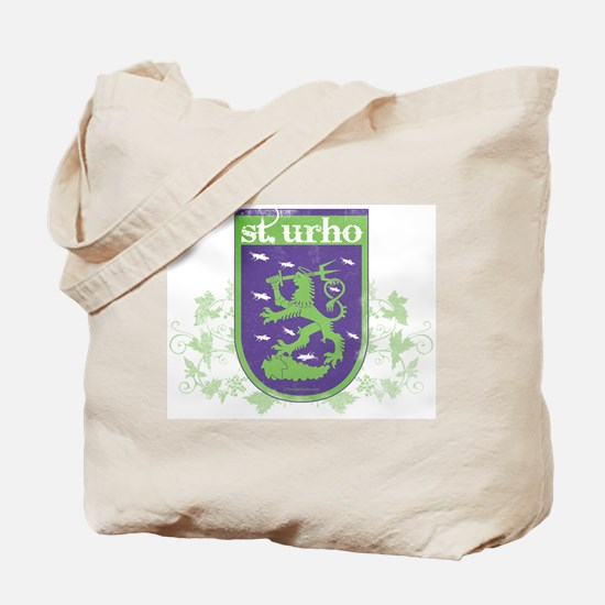 St. Urho Coat of Arms Tote Bag
