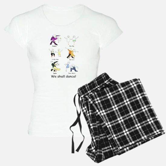 Ballroom Dancers Pajamas