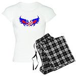 Heart Flag ver2 Women's Light Pajamas