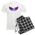 Heart Flag ver2 Men's Light Pajamas