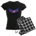 Heart Flag ver3 Women's Dark Pajamas