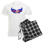 Heart Flag ver3 Men's Light Pajamas
