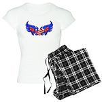 Heart Flag ver4 Women's Light Pajamas