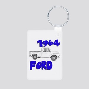 1964 Ford Truck Aluminum Photo Keychain