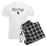 USAF Major Preggo ver2 Men's Light Pajamas